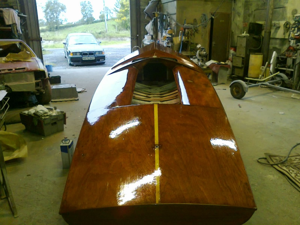 Flying 15 FF Wood Yacht Restoration 5
