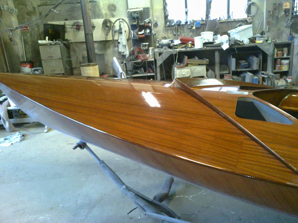 Flying 15 FF Wood Yacht Restoration 6