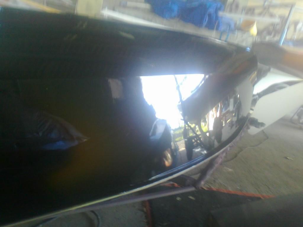 GP14 Racing Dinghy Wood Boat Painting 4