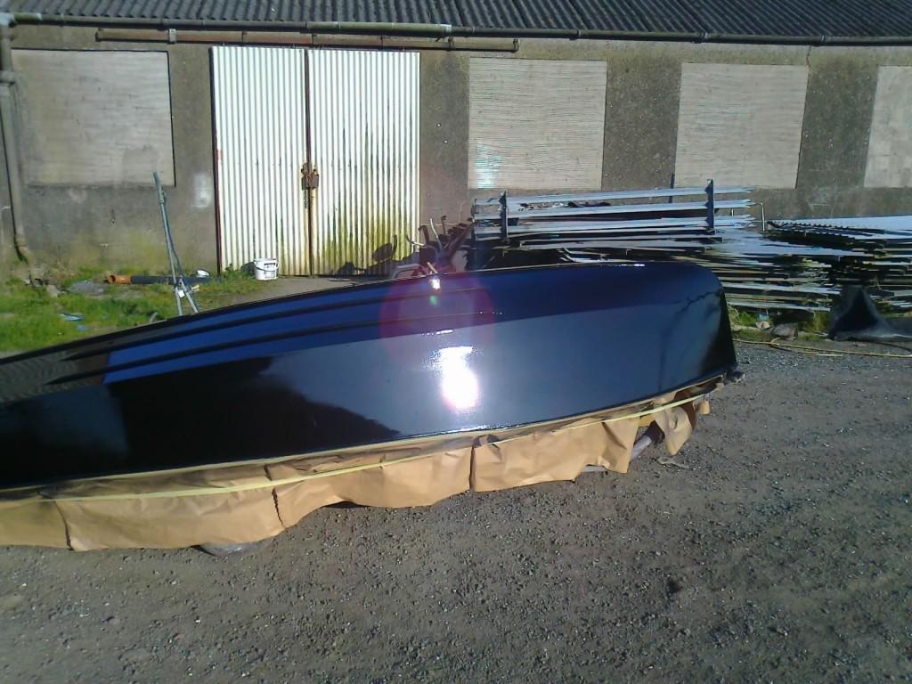 GP14 Wood Boat Painting 5