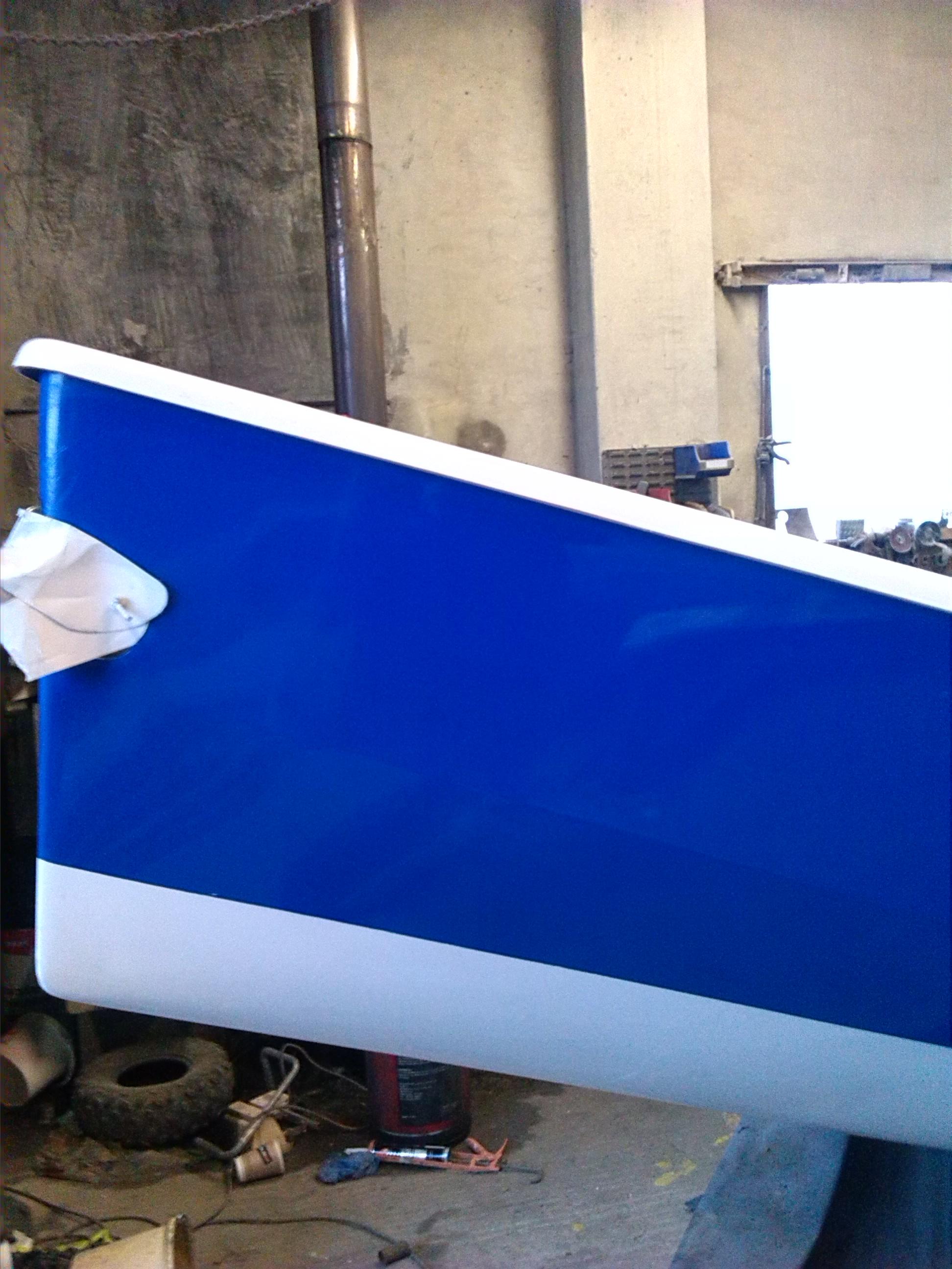 Burnish Job On Rs400 Bryan Willis Marine Yacht And Boat
