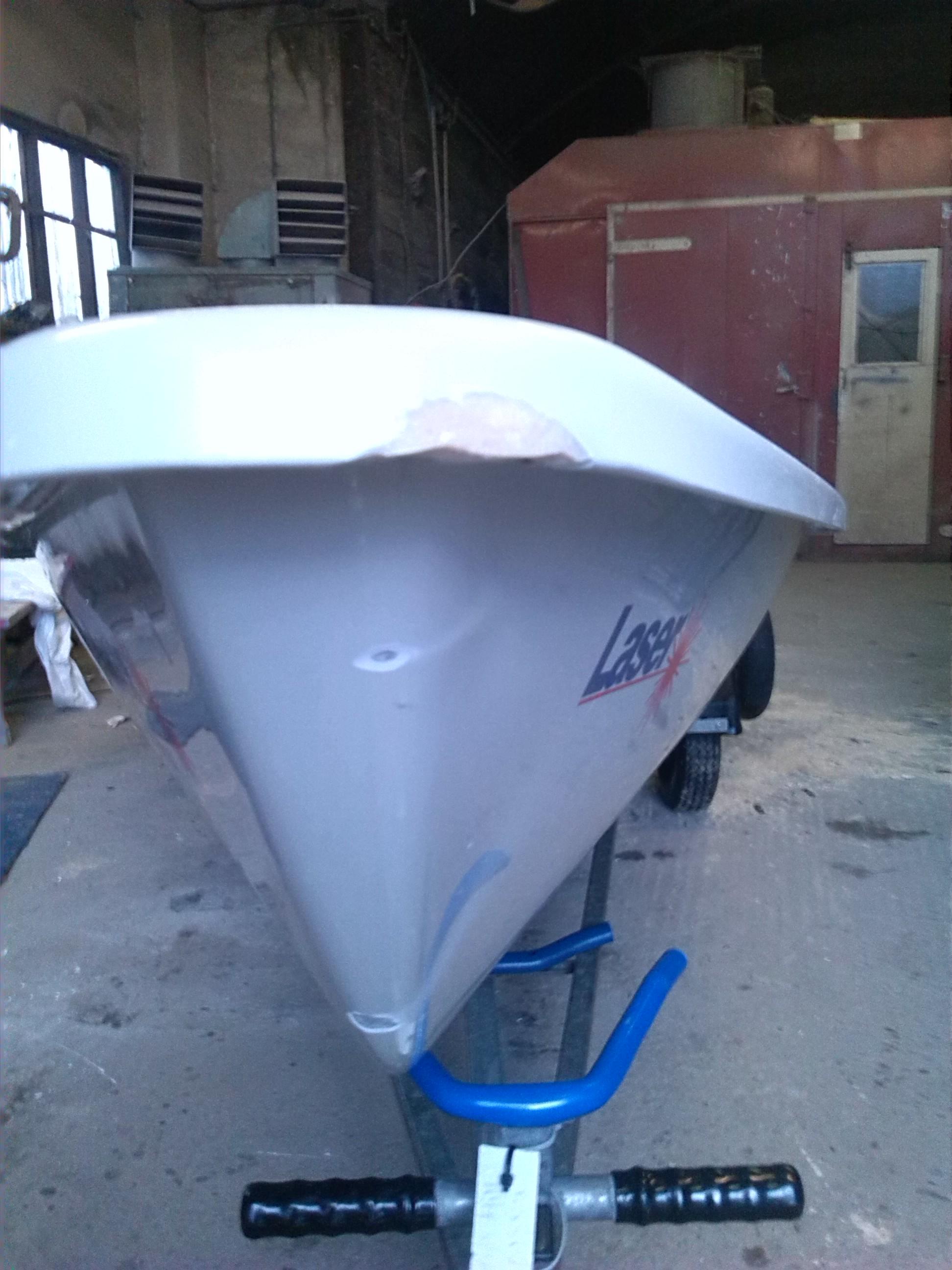 Laser Gelcoat Repairs Bryan Willis Marine Yacht And Boat